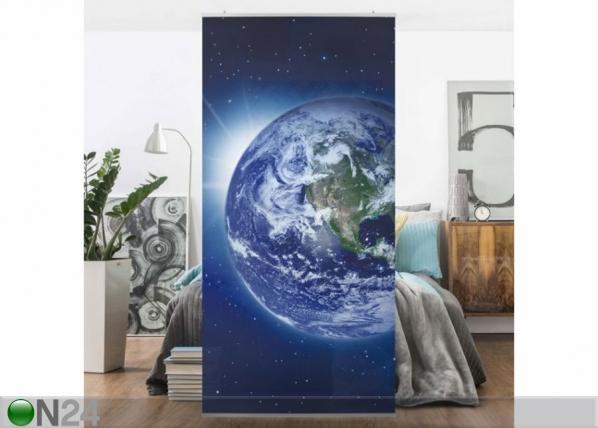 Paneeliverho EARTH IN SPACE 250x120 cm ED-141246