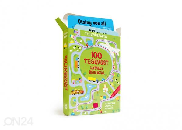"Развивающие карточки ""100 занятий для ребенка во время поездки"" DD-142046"