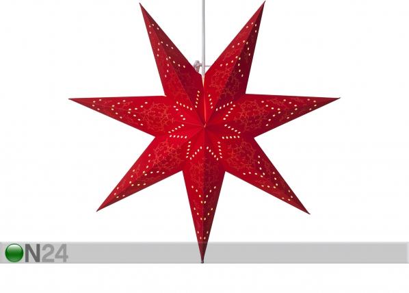 Punane täht Sensy 51 cm AA-142399