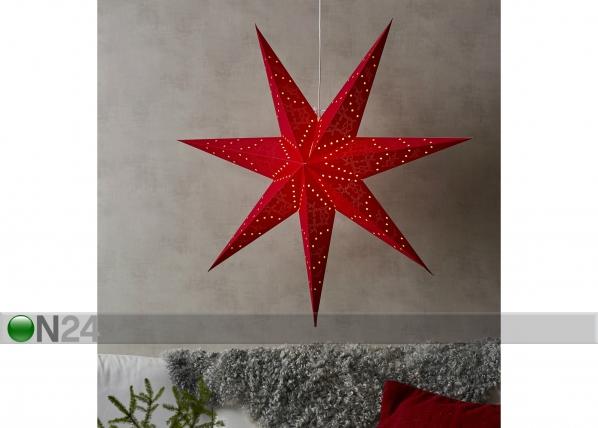 Punane täht Sensy 100 cm AA-142400