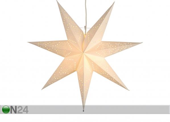 Valge täht Sensy 51 cm AA-142406