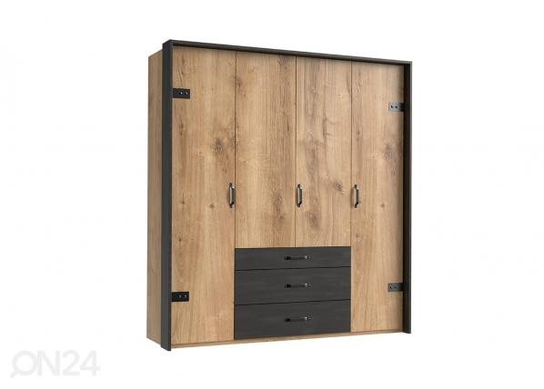 Шкаф платяной Detroit + рама SM-142562