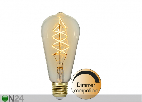 Декоративная LED лампочка E27 3 Вт AA-142574