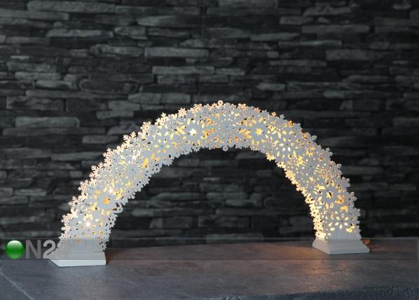 LED tuledega jõulukaunistus Snow AA-142964