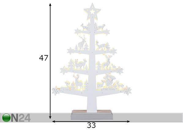 LED joulukoriste FAUNA AA-142965