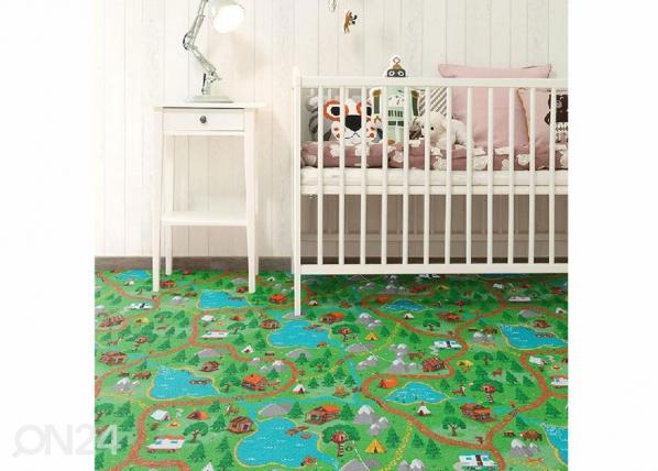 Lastenhuoneen matto METSÄMATKA AF-143106