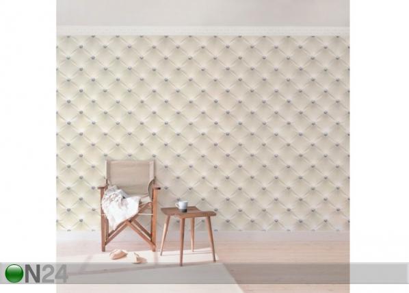Fleece-kuvatapetti Diamond Cream Luxury ED-143257