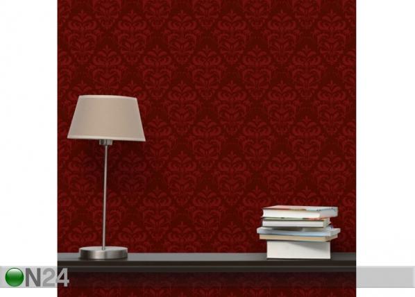 Fleece-kuvatapetti Red French Baroque ED-143329