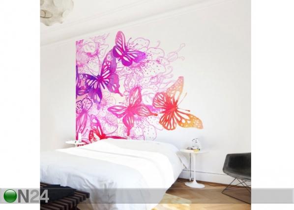 Fleece-kuvatapetti Butterfly Dream ED-143433