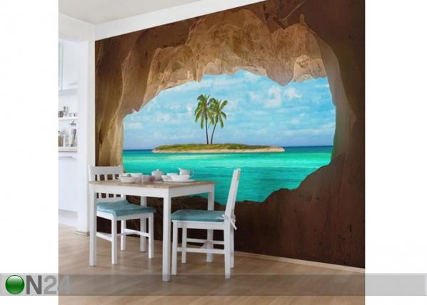 Fleece-kuvatapetti View into Paradise ED-143543