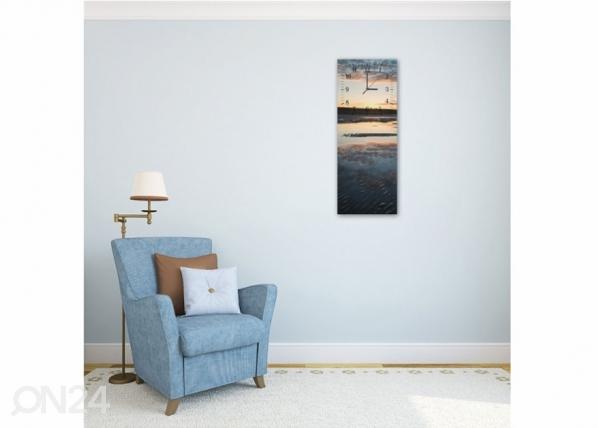 Kuvallinen seinäkello BEACH ED-143777