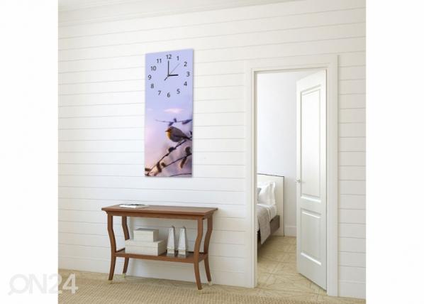 Kuvallinen seinäkello BIRD ED-143829