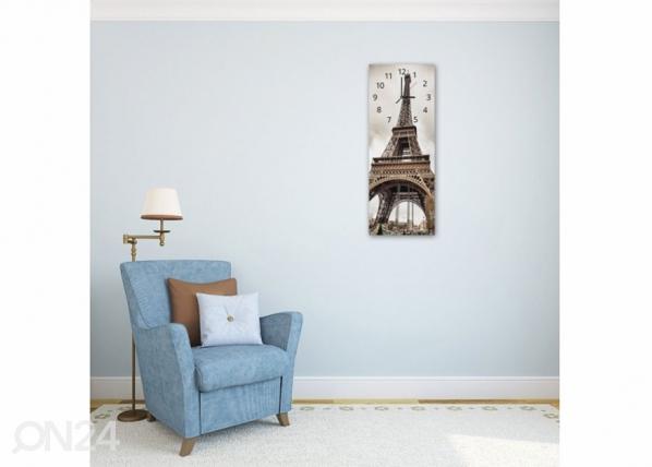 Kuvallinen seinäkello EIFFEL TOWER ED-143837