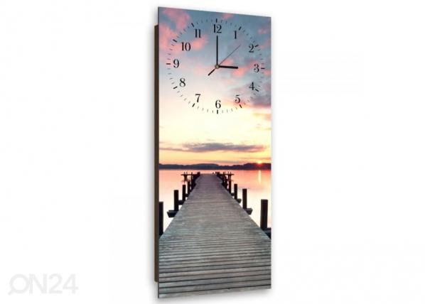 Kuvallinen seinäkello BRIDGE AT SUNSET ED-143923