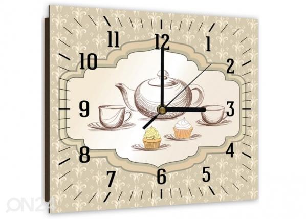 Kuvallinen seinäkello TEA TIME 1 ED-144074