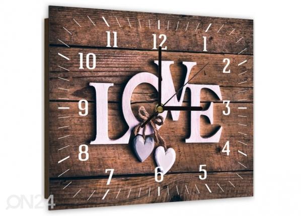 Kuvallinen seinäkello LOVE ED-144159