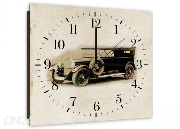 Kuvallinen seinäkello Old car ED-144185