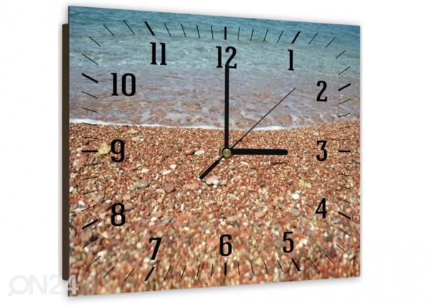 Kuvallinen seinäkello Sea shore ED-144189