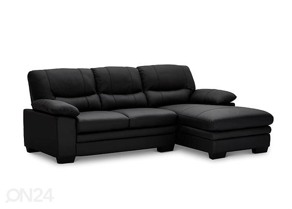Кожаный угловой диван Moby AY-144210