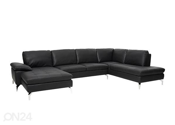 Кожаный угловой диван Bolette AY-144215
