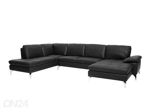 Кожаный угловой диван Bolette AY-144220