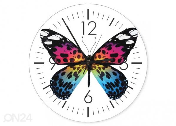 Kuvallinen seinäkello Butterfly ED-144346