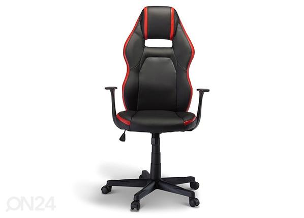 Рабочий стул Space, чёрный-красный AY-144492