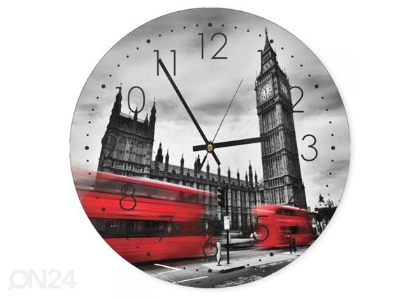 Seinäkello London tower kuvalla ED-144559