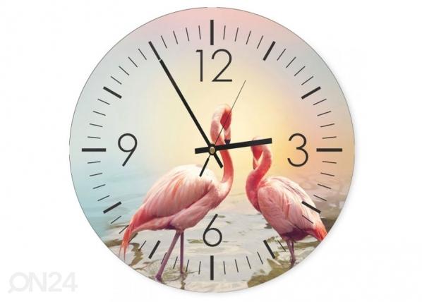 Kuvallinen seinäkello Flamingos 1 ED-144583