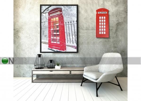 Seinävalaisin Puhelinkoppi AA-145097