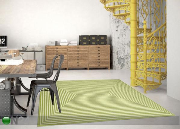 Matto Braid Green A5-145564