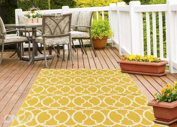 Matto Interlaced Yellow 160x230 cm A5-145572