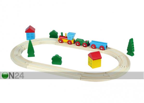 Puinen junarata KE-145747