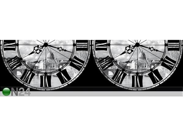 Seinätarra Roma with Clock 14x500 cm ED-145807