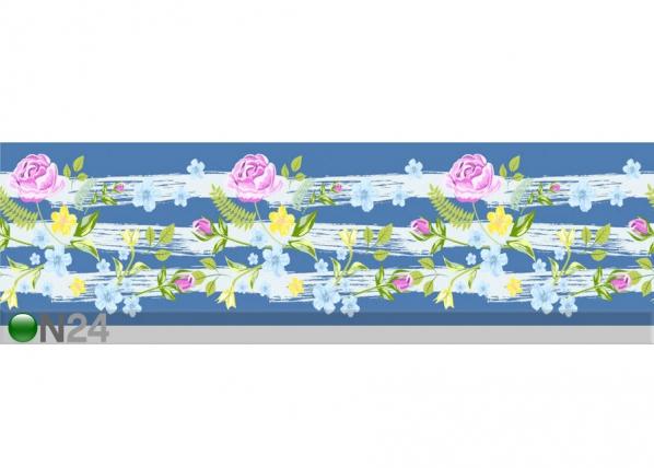 Seinätarra Flowers 4 14x500 cm ED-145891