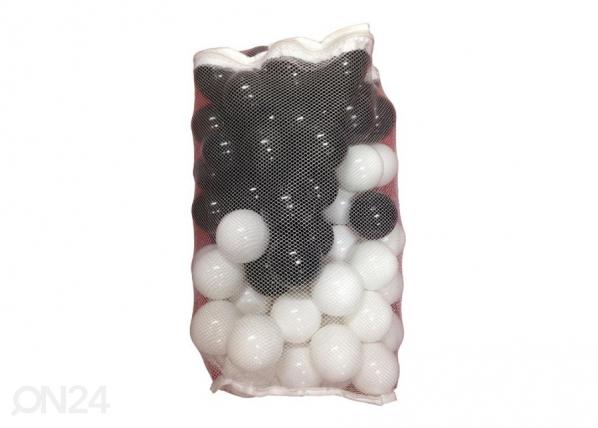 Pallomeri pallot 80 kpl musta ja valkoinen UP-146561