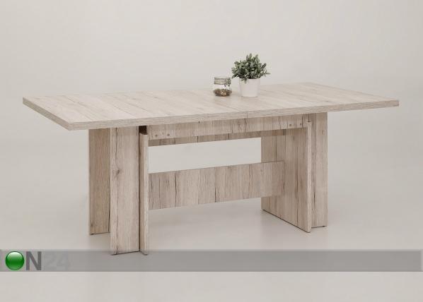 Jatkettava ruokapöytä Lia I 90x180-340 cm SM-146729