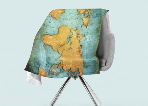 Fleecepeitto Golden World Map ED-147053