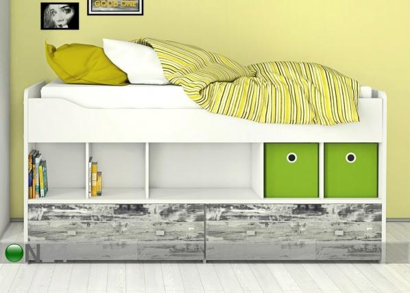 Sänky vuodevaatelaatikoilla 90x200 cm AY-147166