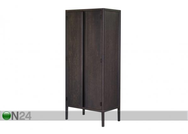Шкаф платяной Kalev, антрацитово-серый WM-149110