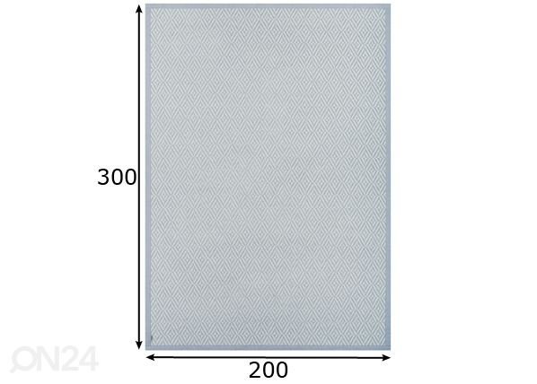 Narma smartWeave® vaip Püha silver 200x300 cm NA-150652