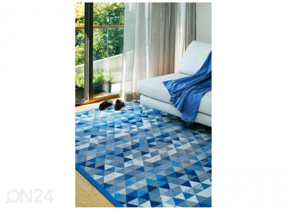 Narma smartWeave® vaip Luke blue 70x140 cm NA-151190
