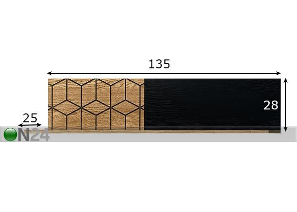 Seinähylly TF-151502