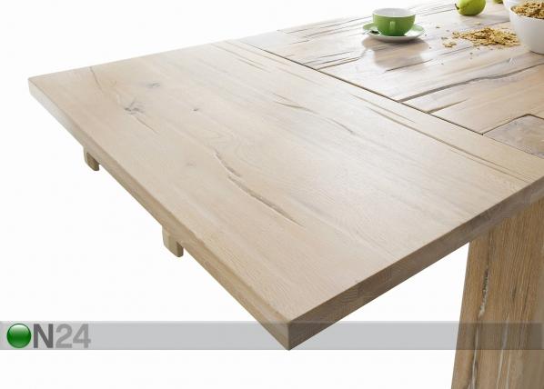 Дополнительная панель стола из массива дуба Fausto AY-151573