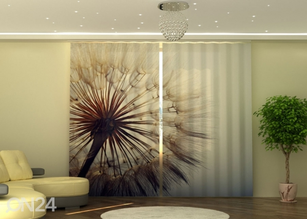 Puolipimentävä verho Amazing Dandelion 290x245 cm ED-152331