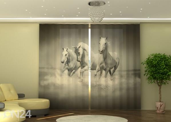 Poolpimendav kardin White Gracefulness 290x245 cm ED-152346