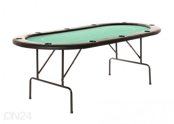 Pokeripöytä vihreä OE-152770
