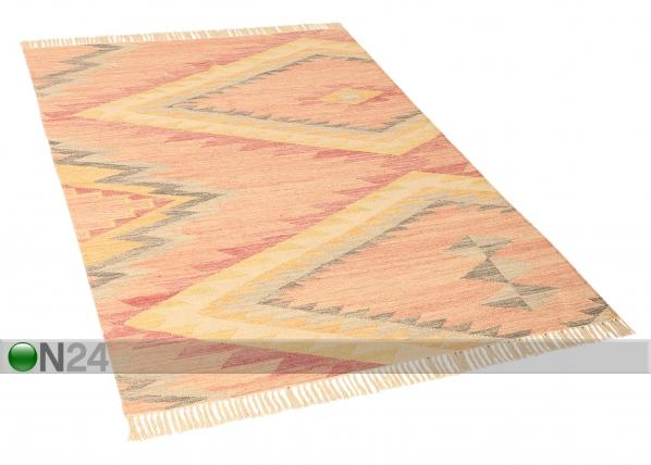 Matto Vintage Zigzag Kelim AA-153837