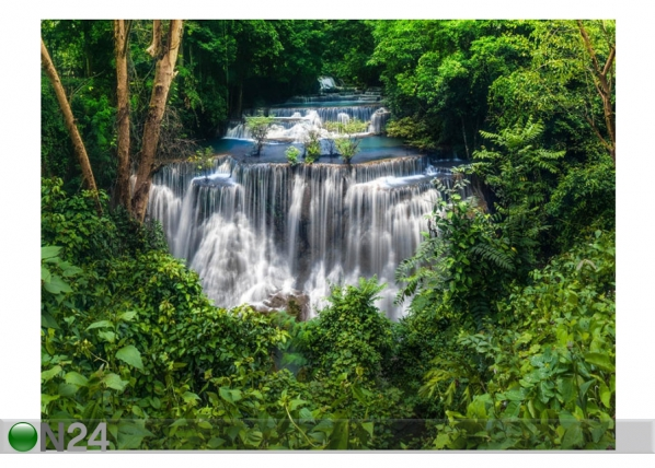 Fleece kuvatapetti Waterfall 1 360x270 cmcm ED-154245