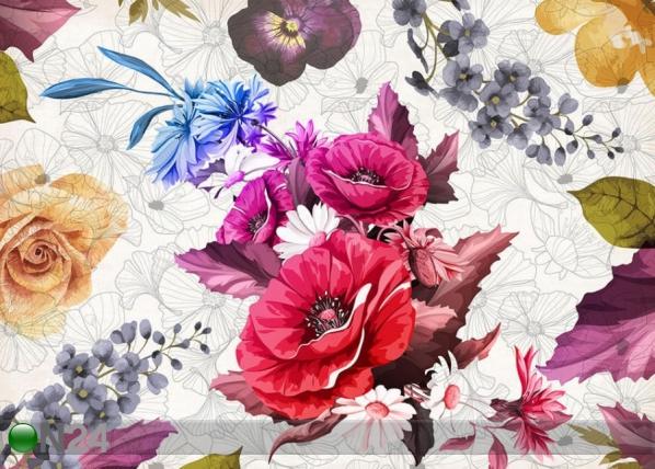 Fliis fototapeet Flowers 3 360x270 cm ED-154252